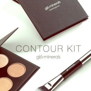glo minerals contour kit medium to dark NEW NWT